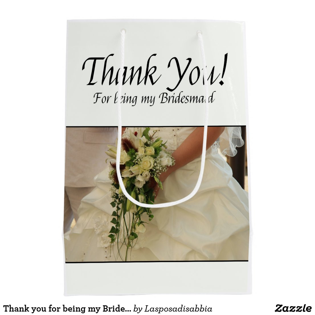 Thank you for being my Bridesmaid Gift Bag