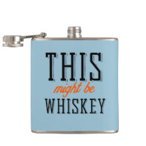 This might be whiskey hip flasks