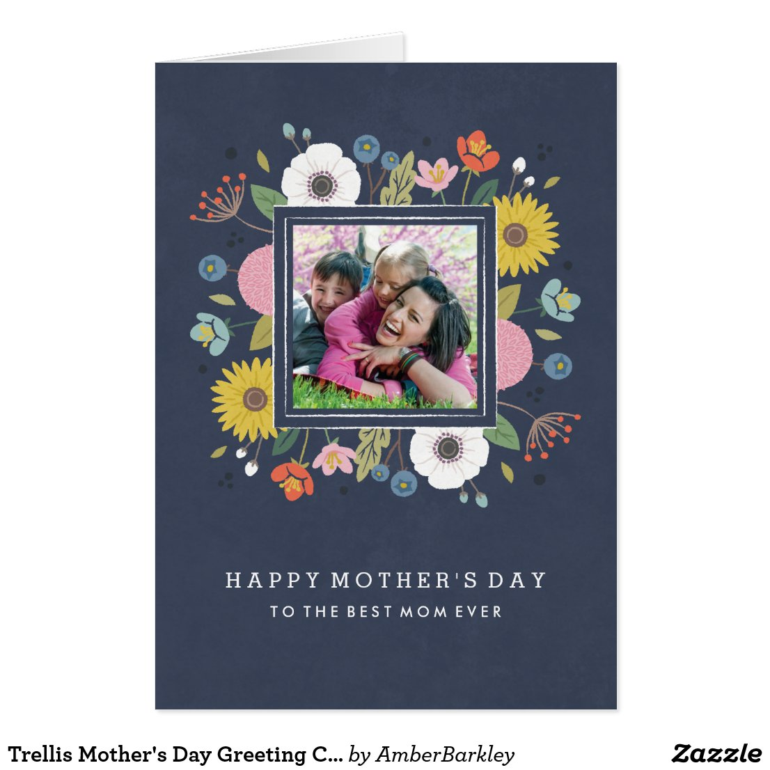 Trellis Mother's Day Greeting Card