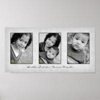 Trio 10x20 Photo Template Print