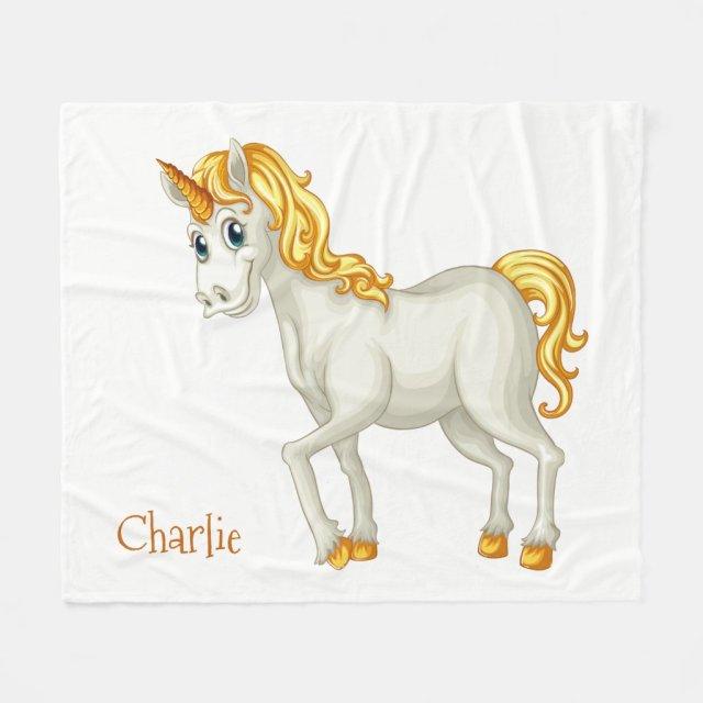 Unicorn Custom fleece blankets