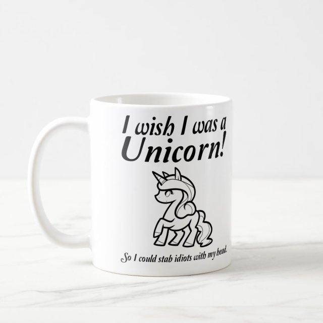 Unicorn Stabbing Funny Mug