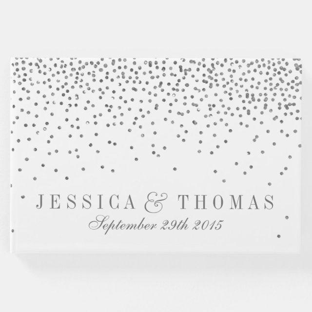 Vintage Glam Silver Confetti Wedding Collection