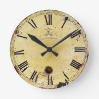 Vintage Shabby Chic Wall Clock