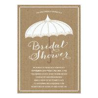 Vintage Umbrella | Bridal Shower Invite