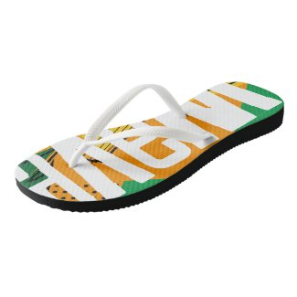 WaveGlobe Flip Flops