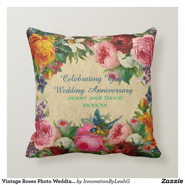 Wedding Anniversay Cushion