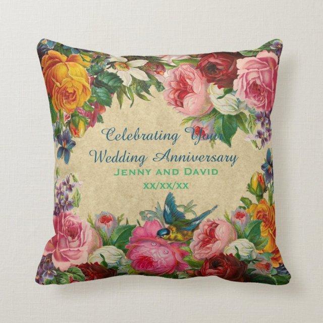 Wedding Anniversay Cushion