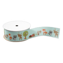Woodland Ribbon Grosgrain Ribbon
