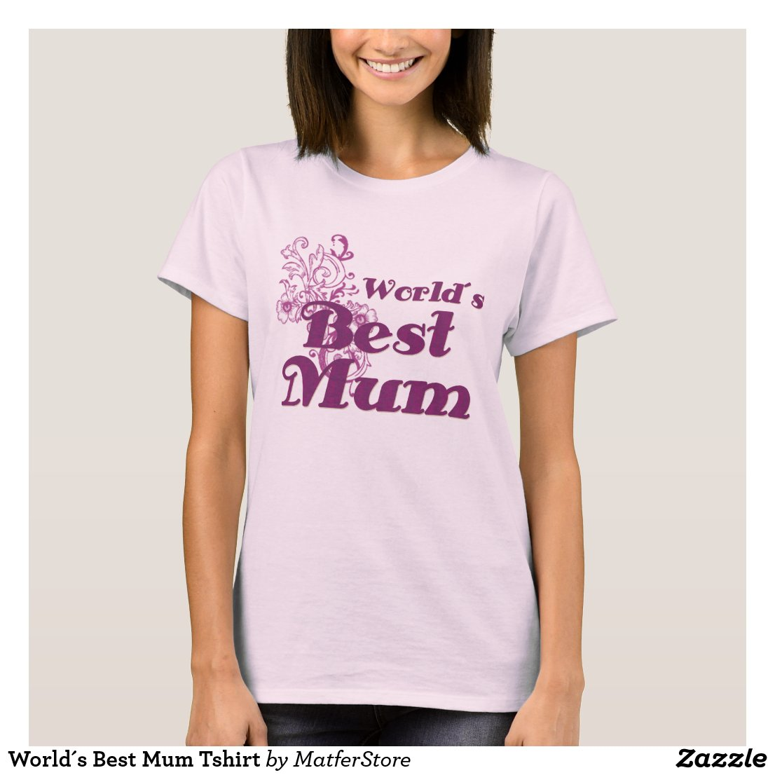 World's Best Mum T-Shirt