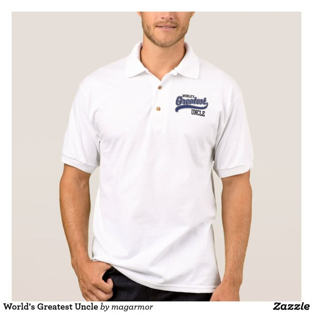 World's Greatest Uncle Polo Shirt