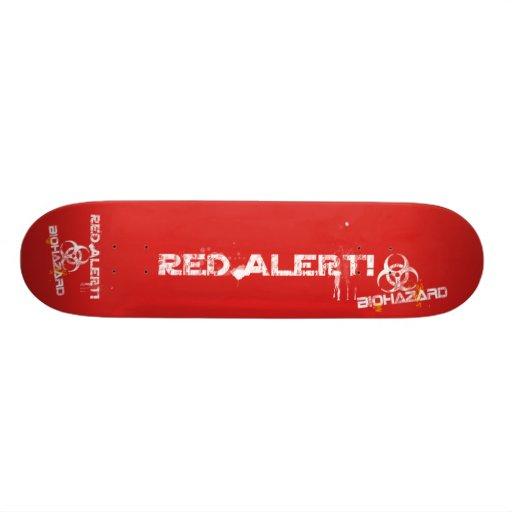 AWESOME RED ALERT BOARD! - Red Alert! Original Skateboard ...