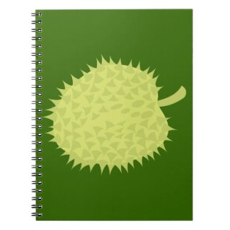 Durian the Smelly Fruit! NP Spiral Note Books