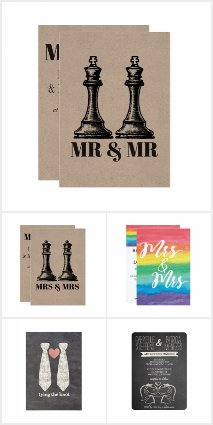 Fabulous LGBT Invitations