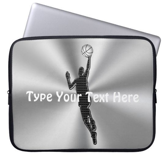 Personalised Basketball Case, 10 to 15 in Laptops Laptop ...