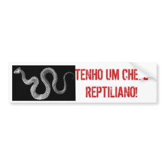 ADESIVO CHEFE REPTILIANO bumpersticker