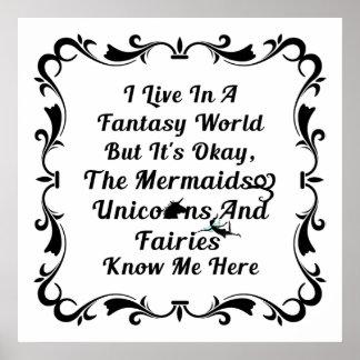 Poster do filme O mundo da fantasia