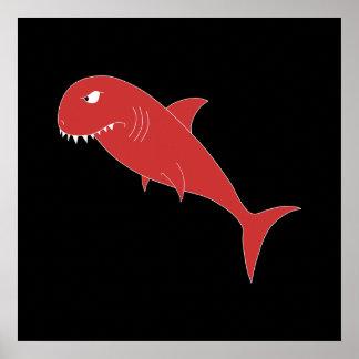 Poster do filme Tubarão Vermelho
