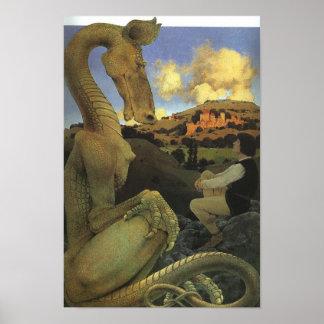 Poster do filme O Dragão Relutante