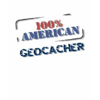 100% Geocacher Geocaching Logo Shirt shirt