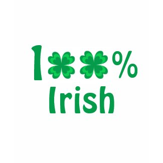 100% Irish - T-shirt shirt