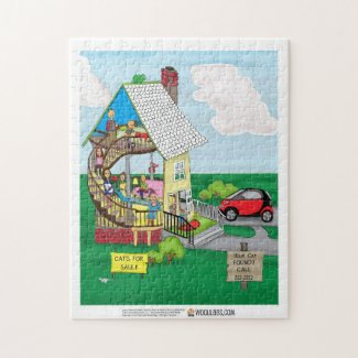 10 x 14 One-Walled House Puzzle