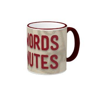 11 Oz 300 Words, 2 Minutes Ring Mug