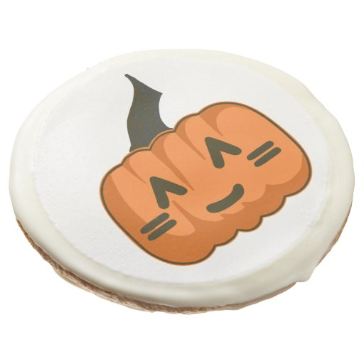 12 Cute-O-Lantern Sugar Glazed Cookies