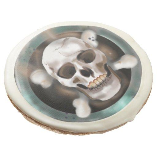 12 Skull & Crossbones Hardtack Seabiscuits Sugar Cookie