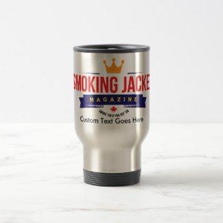 15 oz Travel Mug with Smoking Jacket Magazine Logo