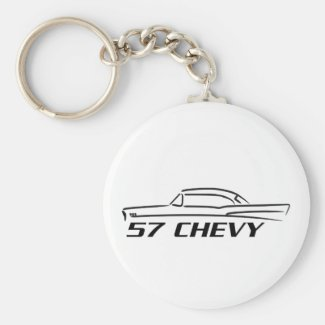 1957 Chevy Hard Top Type Key Chains