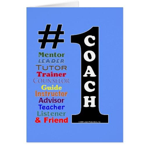1 Coach Card Zazzle