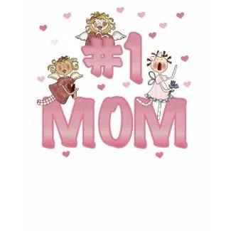#1 Mom shirt