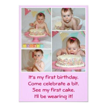 1st birthday postcards