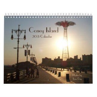 2013 Coney Island Calendar