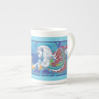 2017 Mink Mug Hippicorn Bone China