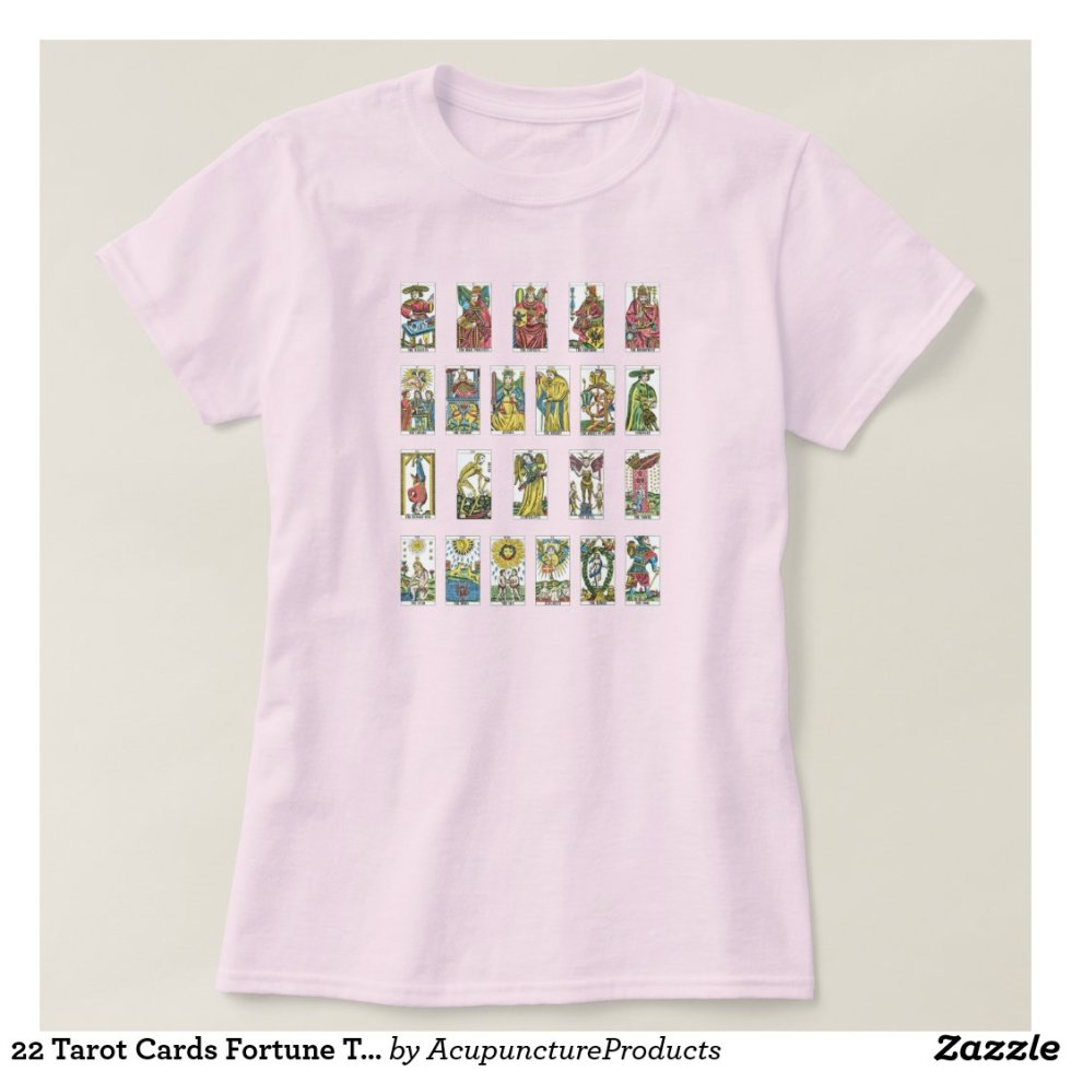 22 Tarot Cards Fortune Teller T-Shirt