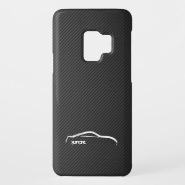 350Z White Silhouette Logo Case-Mate Samsung Galaxy S9 Case