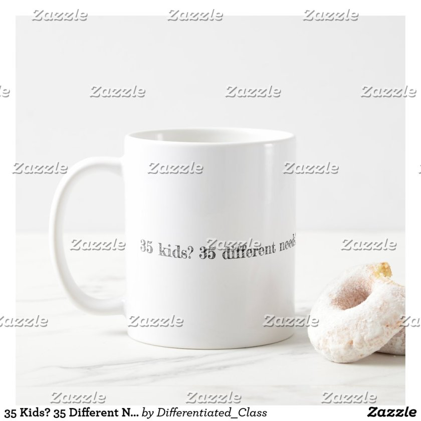 35 Kids? 35 Different Needs? You've Got This! Coffee Mug