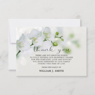 3 000 Sympathy Thank You Cards Zazzle