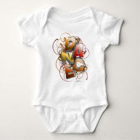 3D Dance (Fall) Baby Bodysuit