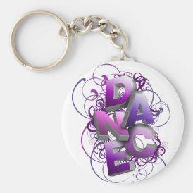 3D Dance (Summer) Keychain