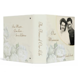 50th Anniversary - Personalized Photo Album Binder