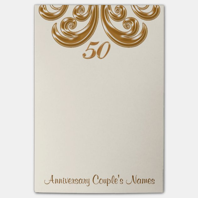 50th Wedding Anniversary Gifts For Grandparents Post-it