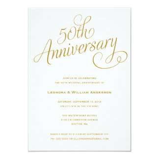 50th Wedding Anniversary Invitations Ideas Together With Invitation Cards Samples Celebration