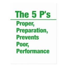 Image result for proper preparation prevents poor performance