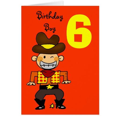 6 Year Old Boy Birthday Wishes