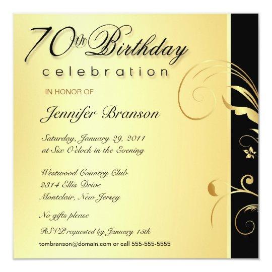 70Th Birthday Invitation Wording Ideas Wedding Invitation Sample – 90th Birthday Invitation Wording Samples