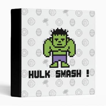 8Bit Hulk - Hulk Smash! Binder