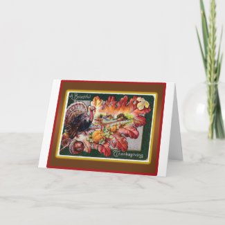 A Bountiful Thanksgiving Greeting Cards